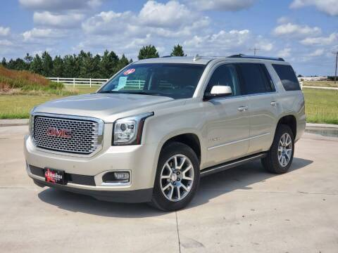 2016 GMC Yukon for sale at Chihuahua Auto Sales in Perryton TX