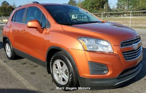 2015 Chevrolet Trax for sale at Matt Hagen Motors in Newport NC