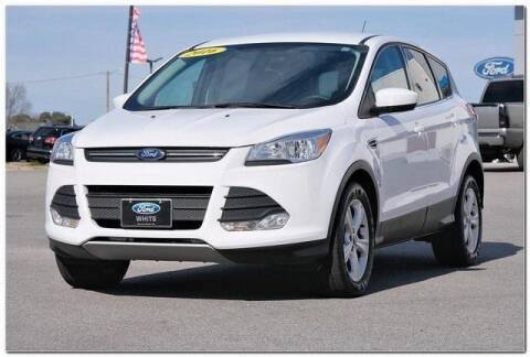 2016 Ford Escape for sale at WHITE MOTORS INC in Roanoke Rapids NC