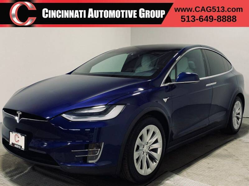 2017 Tesla Model X for sale at Cincinnati Automotive Group in Lebanon OH