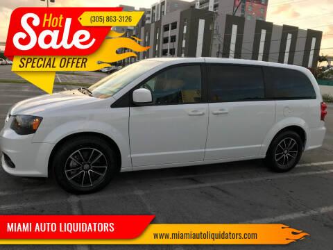 2018 Dodge Grand Caravan for sale at MIAMI AUTO LIQUIDATORS in Miami FL