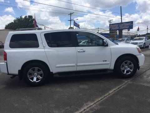 2007 Nissan Armada for sale at Bobby Lafleur Auto Sales in Lake Charles LA
