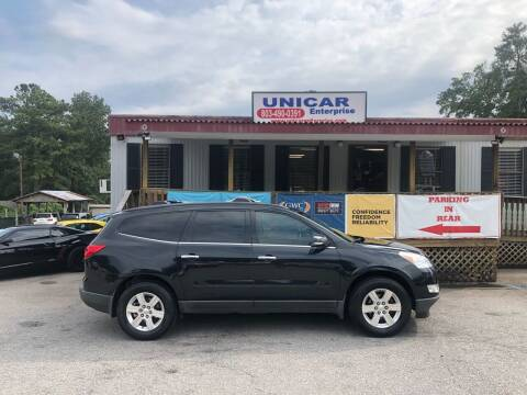 2012 Chevrolet Traverse for sale at Unicar Enterprise in Lexington SC