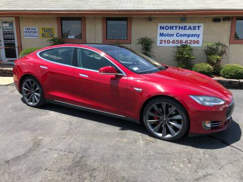 2014 Tesla Model S for sale at Northeast Motor Company in Universal City TX