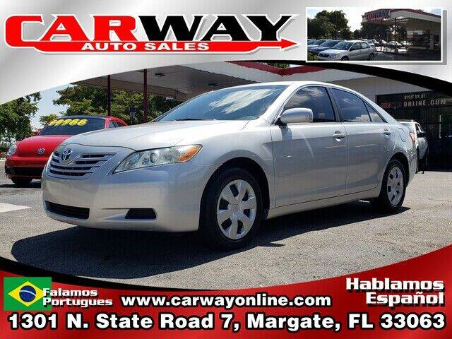 2007 Toyota Camry for sale at CARWAY Auto Sales in Margate FL
