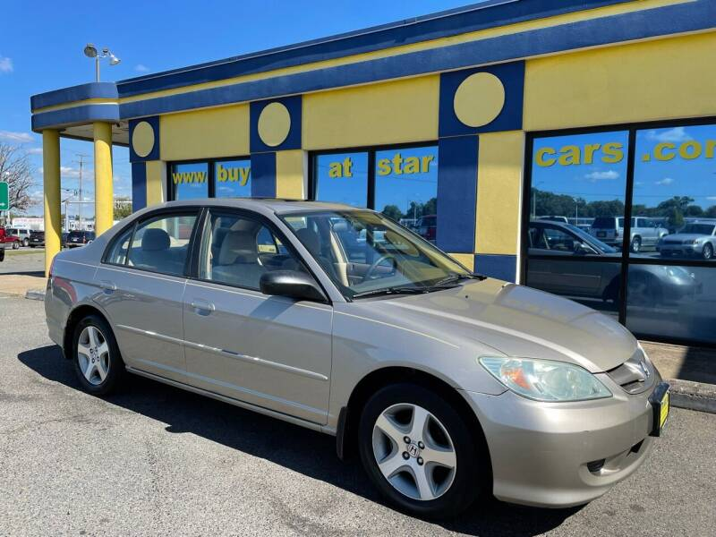 2004 Honda Civic for sale at Star Cars Inc in Fredericksburg VA