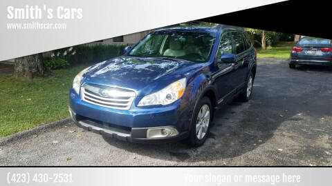 2011 Subaru Outback for sale at Smith's Cars in Elizabethton TN