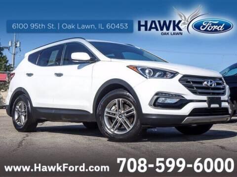 2017 Hyundai Santa Fe Sport for sale at Hawk Ford of Oak Lawn in Oak Lawn IL