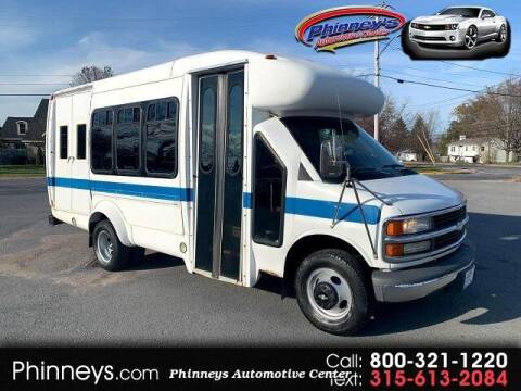 2002 Chevrolet Express Cutaway for sale at Phinney's Automotive Center in Clayton NY