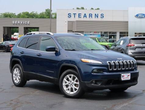 2018 Jeep Cherokee for sale at Stearns Ford in Burlington NC