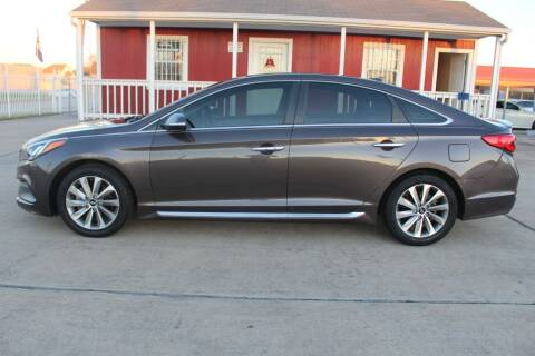 2016 Hyundai Sonata for sale at AMT AUTO SALES LLC in Houston TX
