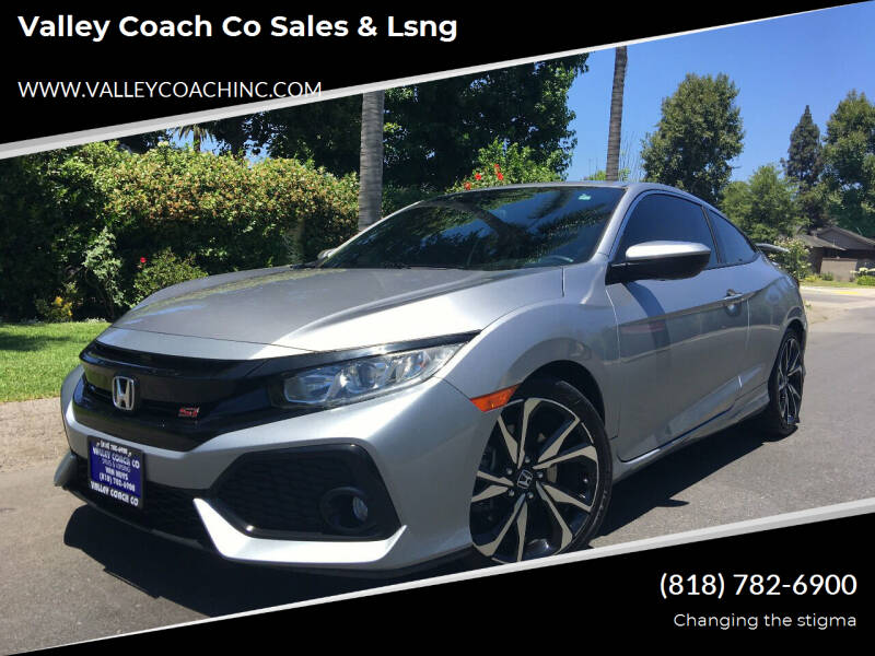 2017 Honda Civic for sale at Valley Coach Co Sales & Lsng in Van Nuys CA