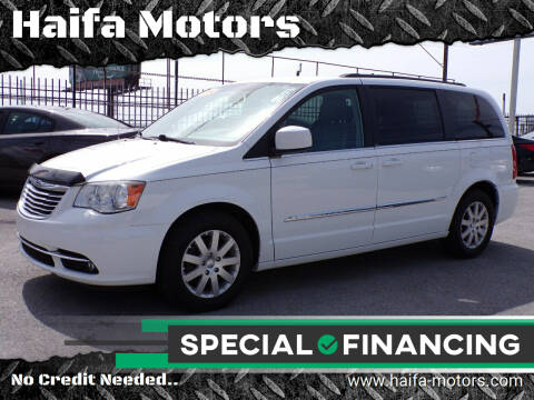 2014 Chrysler Town and Country for sale at Haifa Motors in Philadelphia PA