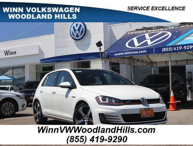 2017 Volkswagen Golf GTI for sale in Woodland Hills, CA