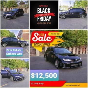 2012 Subaru Impreza for sale at U.S. Auto Group in Chicago IL