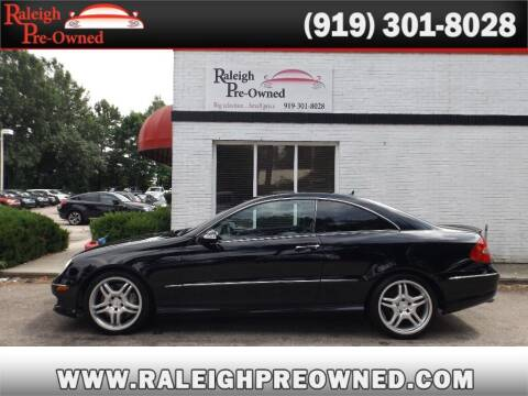 2008 Mercedes-Benz CLK for sale at Raleigh Pre-Owned in Raleigh NC