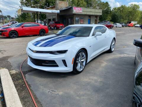 2017 Chevrolet Camaro for sale at BEST AUTO SALES in Russellville AR