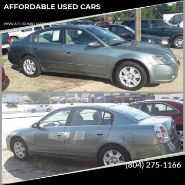 2005 Nissan Altima for sale at AFFORDABLE USED CARS in Richmond VA