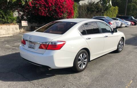 2013 Honda Accord for sale at Eden Motor Group in Los Angeles CA
