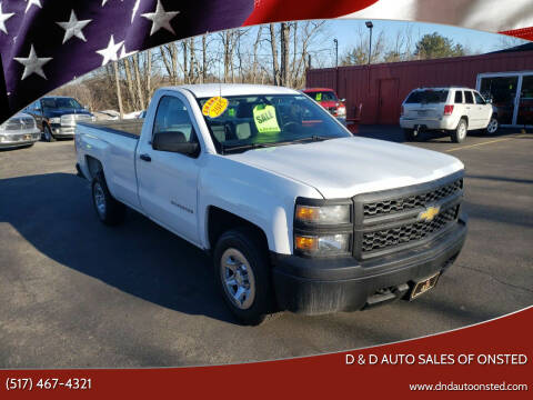 2015 Chevrolet Silverado 1500 for sale at D & D Auto Sales Of Onsted in Onsted   Brooklyn MI