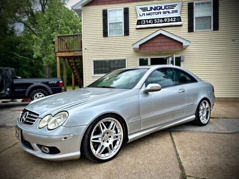 2003 Mercedes-Benz CLK for sale at Unique LA Motor Sales LLC in Byrnes Mill MO