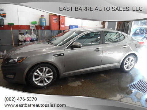 2013 Kia Optima for sale at East Barre Auto Sales, LLC in East Barre VT