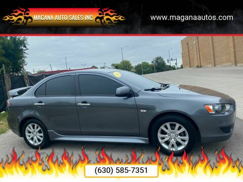 2011 Mitsubishi Lancer for sale at Magana Auto Sales Inc in Aurora IL