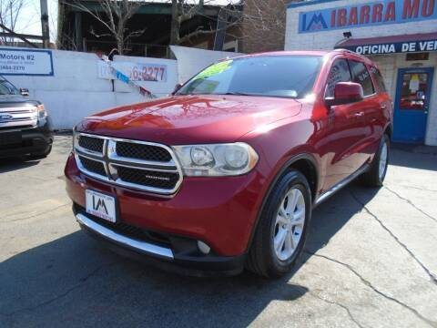 2011 Dodge Durango for sale at IBARRA MOTORS INC in Cicero IL