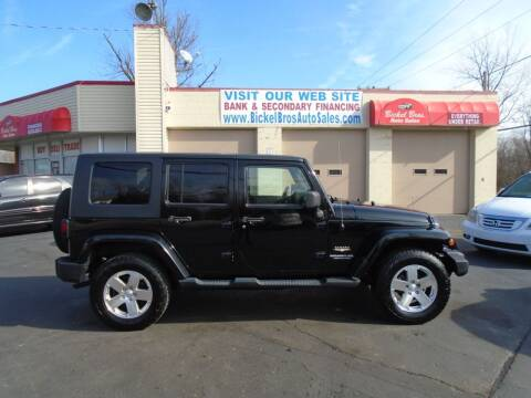 2009 Jeep Wrangler Unlimited for sale at Bickel Bros Auto Sales, Inc in Louisville KY