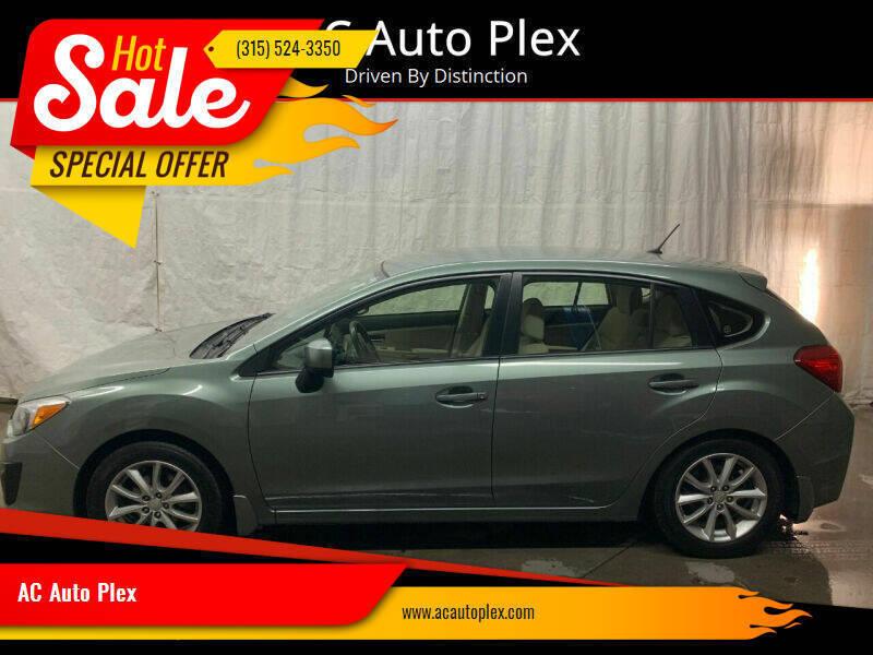 2014 Subaru Impreza for sale at AC Auto Plex in Ontario NY