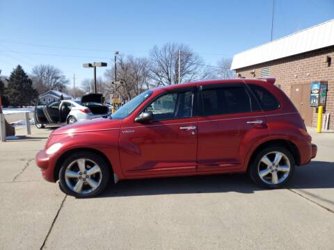 2005 Chrysler PT Cruiser for sale at RIVERSIDE AUTO SALES in Sioux City IA