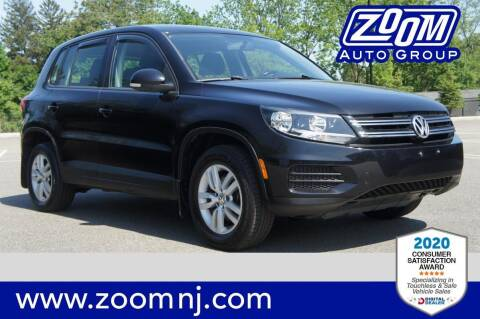 2014 Volkswagen Tiguan for sale at Zoom Auto Group in Parsippany NJ