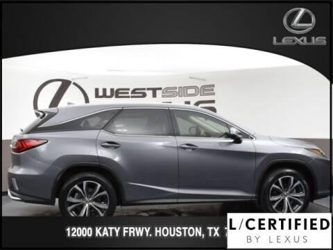 2018 Lexus RX 350L for sale at LEXUS in Houston TX