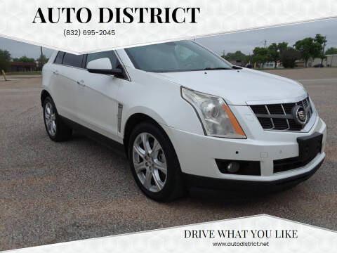 2010 Cadillac SRX for sale at Auto District in Baytown TX
