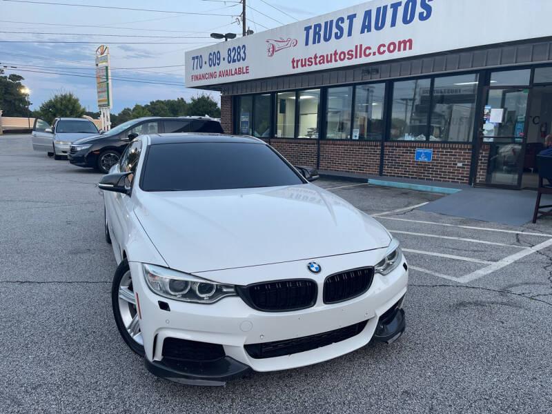 2014 BMW 4 Series for sale at Trust Autos, LLC in Decatur GA