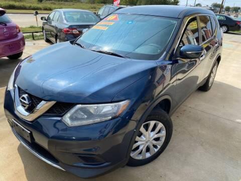 2015 Nissan Rogue for sale at Raj Motors Sales in Greenville TX