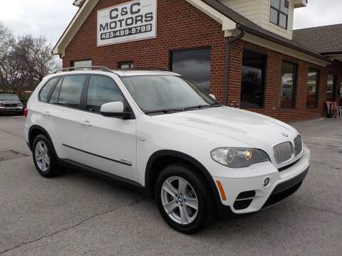 2011 BMW X5 for sale at C & C MOTORS in Chattanooga TN