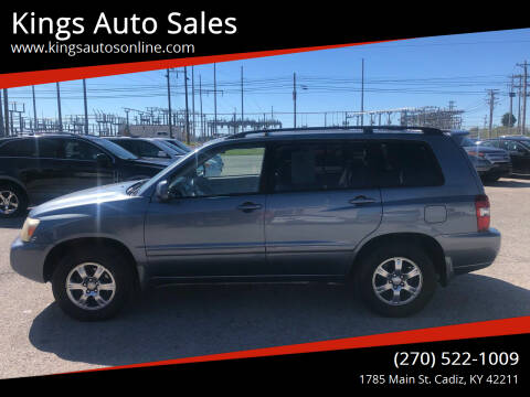 2004 Toyota Highlander for sale at Kings Auto Sales in Cadiz KY