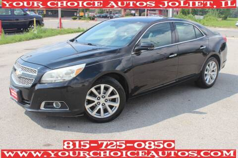 2013 Chevrolet Malibu for sale at Your Choice Autos - Joliet in Joliet IL