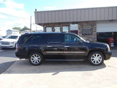 2013 GMC Yukon XL for sale at Preferred Motor Cars of New Jersey in Keyport NJ