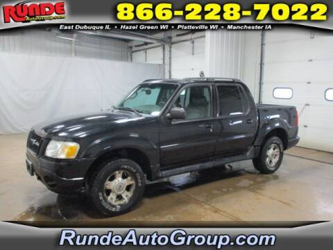 2004 Ford Explorer Sport Trac for sale at Runde Chevrolet in East Dubuque IL