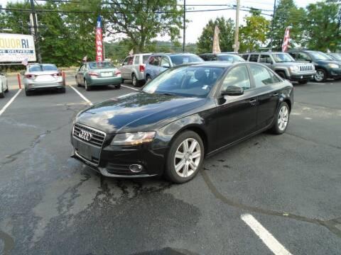 2010 Audi A4 for sale at Gemini Auto Sales in Providence RI