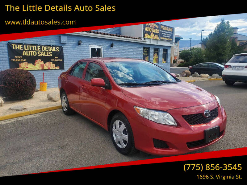 2009 Toyota Corolla for sale at The Little Details Auto Sales in Reno NV