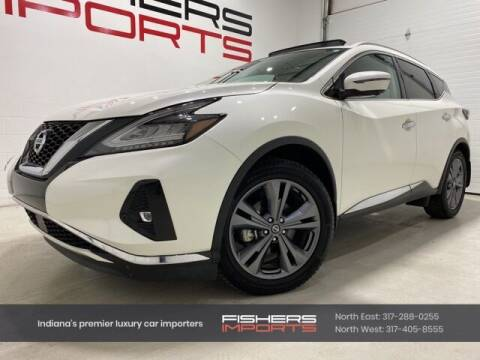 2020 Nissan Murano for sale at Fishers Imports in Fishers IN