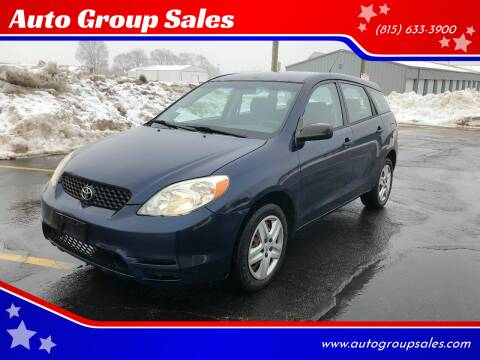 2004 Toyota Matrix for sale at Auto Group Sales in Roscoe IL