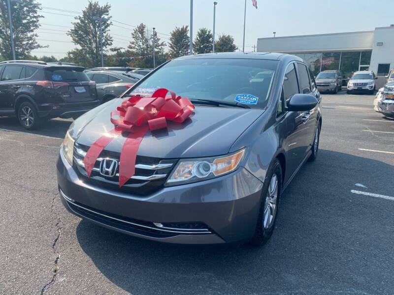 2014 Honda Odyssey for sale at Charlotte Auto Group, Inc in Monroe NC