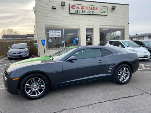 2011 Chevrolet Camaro for sale at C & S SALES in Belton MO