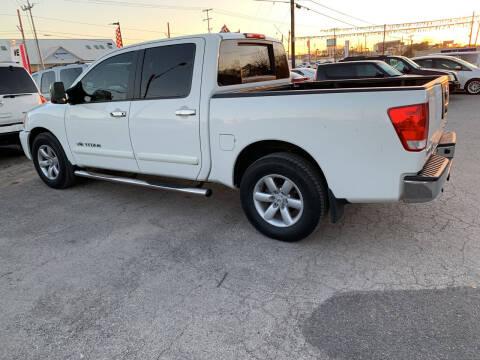 2011 Nissan Titan for sale at BULLSEYE MOTORS INC in New Braunfels TX