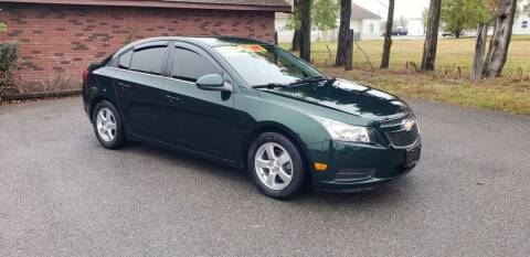2014 Chevrolet Cruze for sale at Elite Auto Sales in Herrin IL