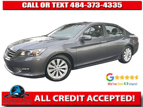 2013 Honda Accord for sale at World Class Auto Exchange in Lansdowne PA